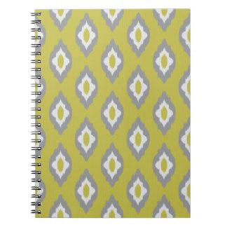 Ikat vintage pattern notebooks