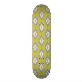 Ikat vintage pattern skateboard deck