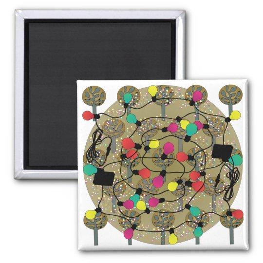 Ikea Fabric Trees Christmas Magnet