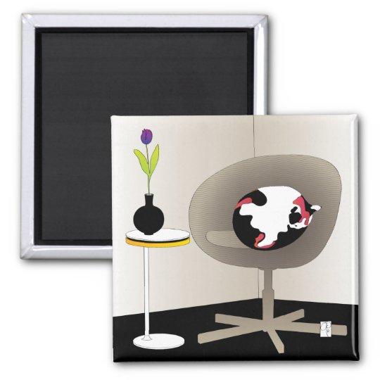 Ikea Interiors Cat Magnet