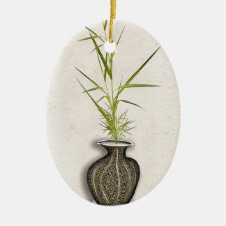ikebana 11 by tony fernandes christmas ornament