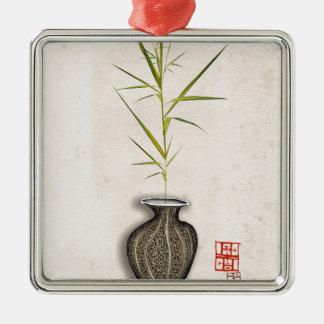 ikebana 12 by tony fernandes christmas ornament