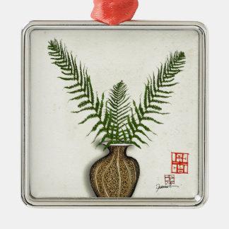 ikebana 17 by tony fernandes christmas ornament