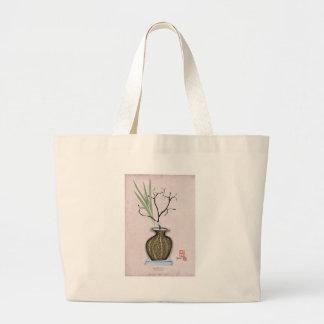 Ikebana 1 by tony fernandes large tote bag