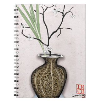 Ikebana 1 by tony fernandes notebooks