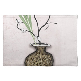 Ikebana 1 by tony fernandes placemat