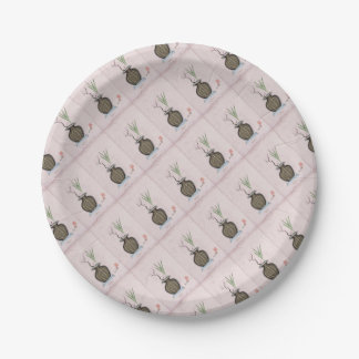 Ikebana 2 by tony fernandes paper plate