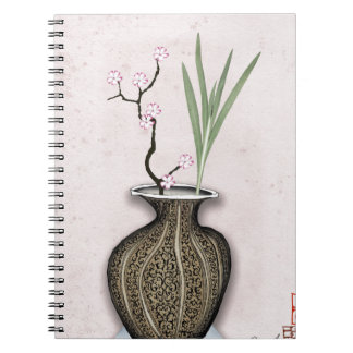 Ikebana 2 by tony fernandes spiral notebook