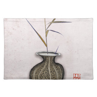 Ikebana 3 by tony fernandes placemat