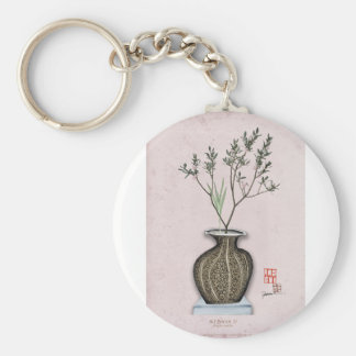 Ikebana 4 by tony fernandes key ring
