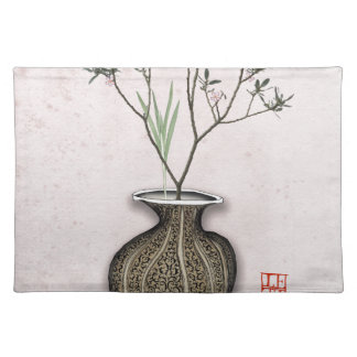 Ikebana 4 by tony fernandes placemat
