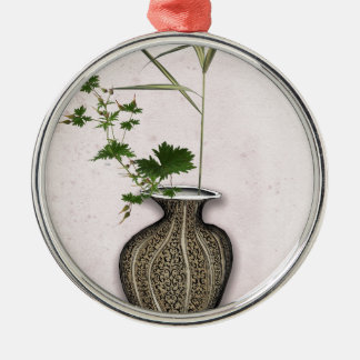 Ikebana 5 by tony fernandes christmas ornament