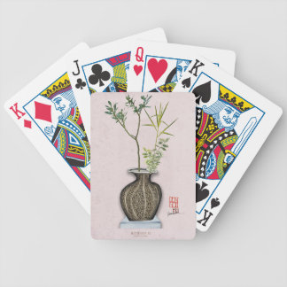 Ikebana 6 by tony fernandes bicycle playing cards