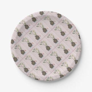 Ikebana 6 by tony fernandes paper plate