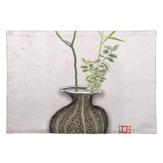 Ikebana 6 by tony fernandes placemat