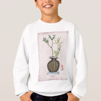 Ikebana 6 by tony fernandes sweatshirt
