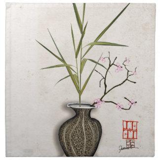 ikebana 7 by tony fernandes napkin