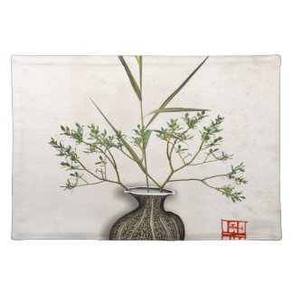 ikebana 9 by tony fernandes placemat