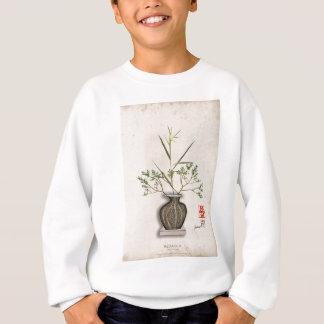 ikebana 9 by tony fernandes sweatshirt