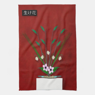 Ikebana Tea Towel