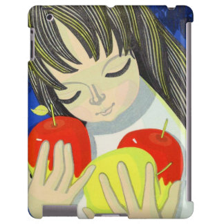 Ikeda Shuzo Apple Song cute little kawaii girl art iPad Case