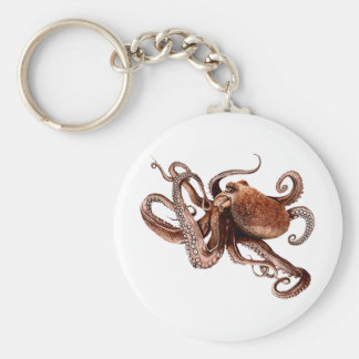 Iker The Octopus Key Ring