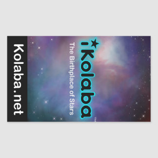 iKolaba The Birthplace of Stars Sticker