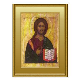 Ikon of Christ Post Cards