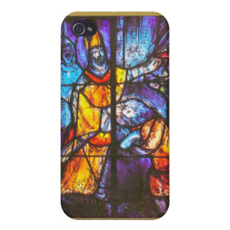 Ikon of stained glass window iPhone 4 case