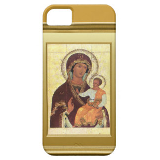 Ikon of the Virgin Mary and the child Jesus Barely There iPhone 5 Case