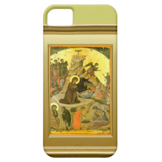 Ikon of the Virgin Mary and the child Jesus iPhone 5 Cases