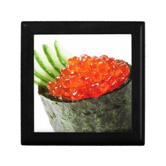 Ikura (Salmon Roe) Gunkan Maki Sushi Small Square Gift Box