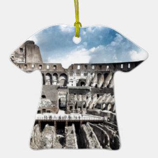Il Colosseo I gave Rome Ceramic T-Shirt Decoration