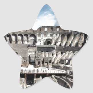 Il Colosseo I gave Rome Star Sticker