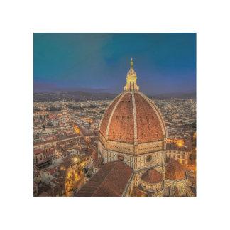Il Duomo di Firenze on Wood Canvas