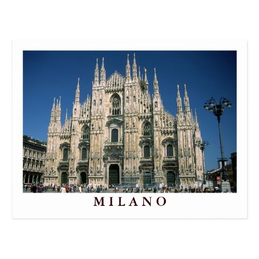 """""""Il Duomo, Milano"""" postcard"""