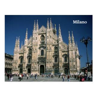 Il Duomo Milano postcard