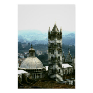 Il Duomo, Siena, Italy | Poster Print
