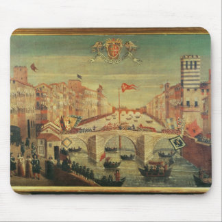 Il Gioco del Ponte dei Pisani Mouse Pad