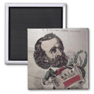 Il Maestro', caricature of the Italian Magnets