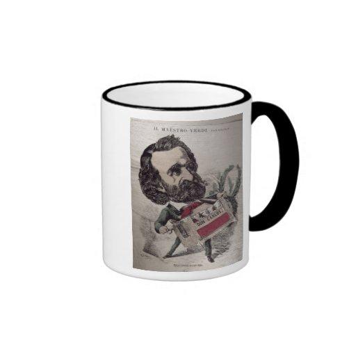 Il Maestro', caricature of the Italian Mugs