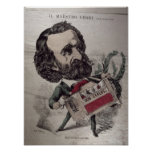 Il Maestro', caricature of the Italian Poster