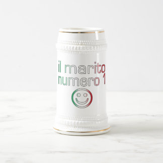 Il Marito Numero 1 - Number 1 Husband in Italian Beer Steins