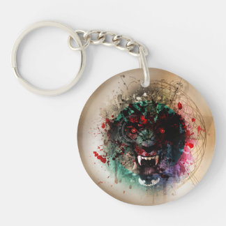 Il portachiavi di Plutonia Double-Sided Round Acrylic Key Ring