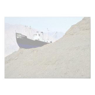 Ilat, Israel Desert 13 Cm X 18 Cm Invitation Card