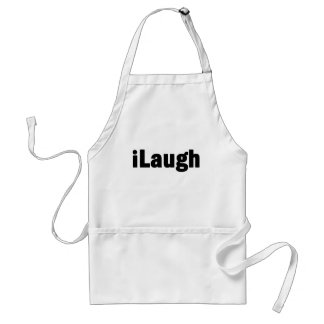 iLaugh Laughter Tshirts and Gifts Standard Apron
