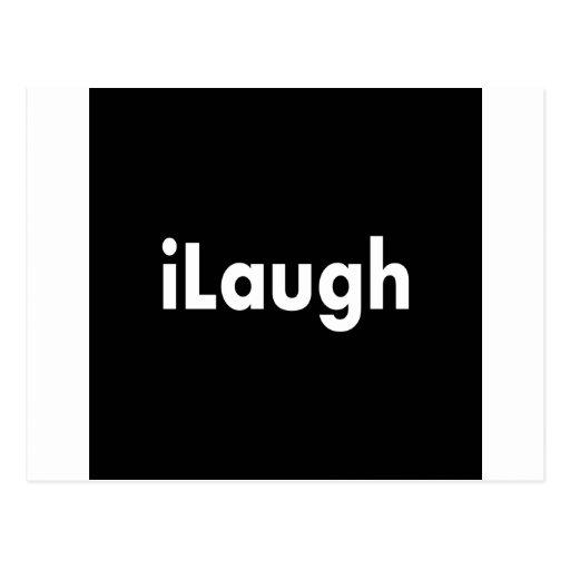 iLaugh Postcard