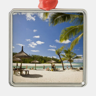 Ile Aux Cerf, most popular day trip for 3 Silver-Colored Square Decoration