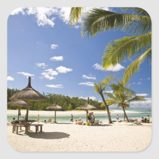 Ile Aux Cerf, most popular day trip for 3 Square Sticker