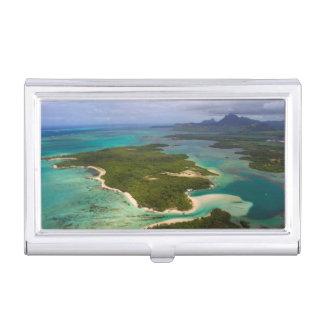 Ile Aux Cerfs, Mauritius Business Card Holder